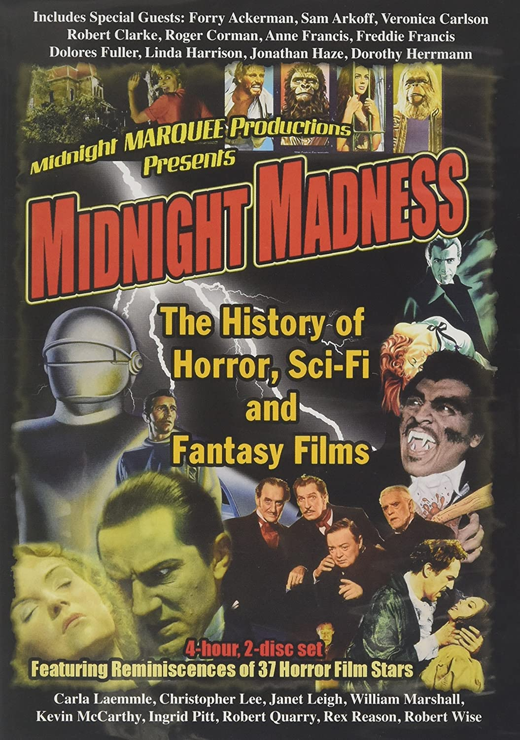 Amazon com: Midnight Madness: The History of Horror, Fantasy