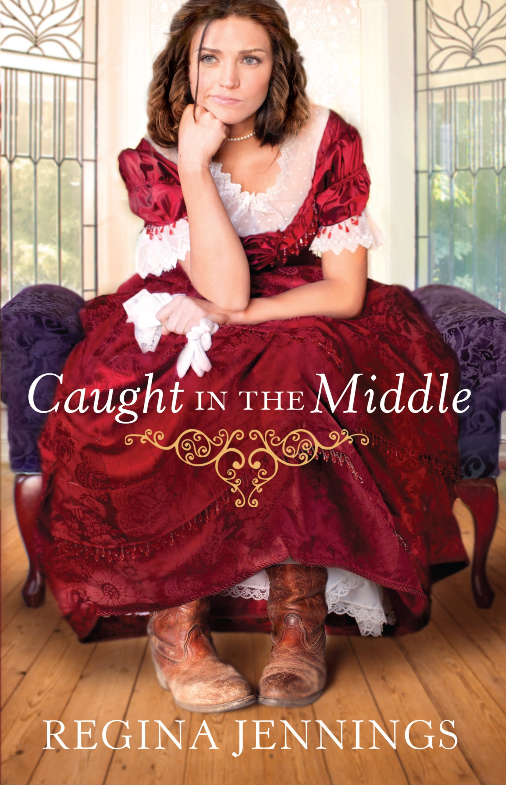 Download Caught in the Middle (Thorndike Press Large Print Christian Historical Fiction) ebook