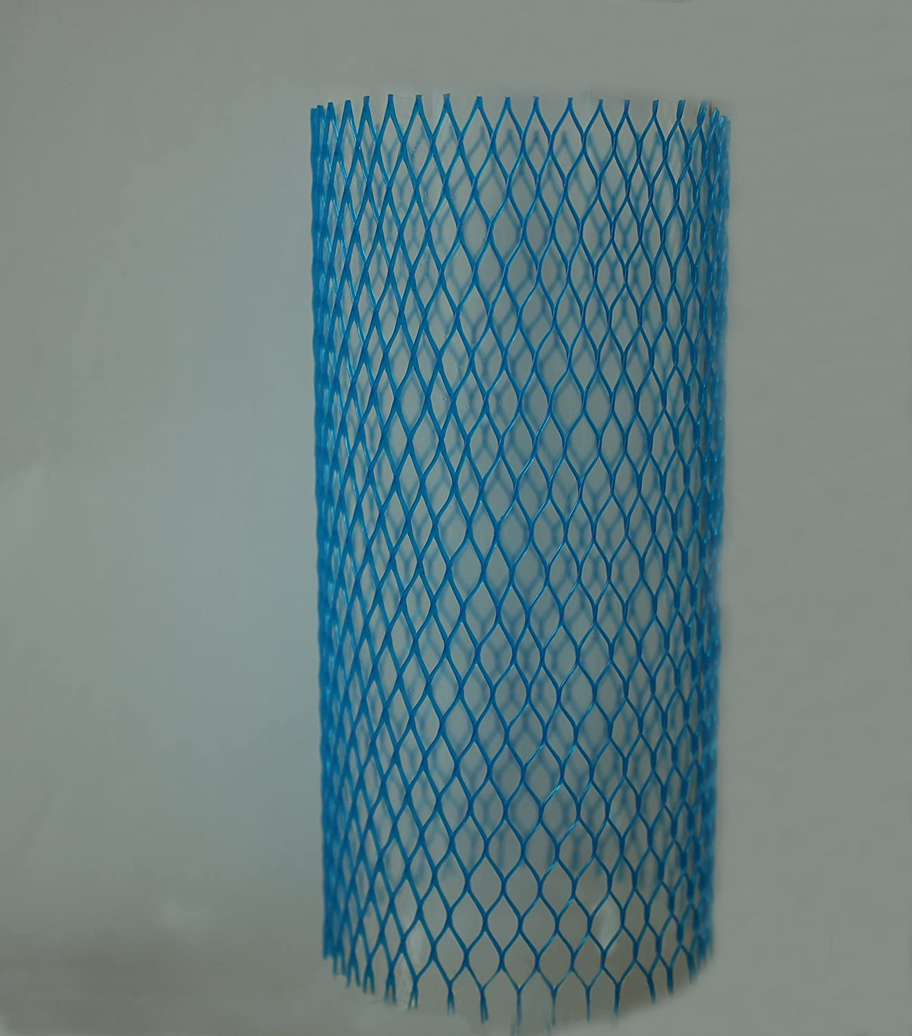 30 Pieces Blue Mesh Wine Liquor Bottle Protective Sleeves 7 Inches Long