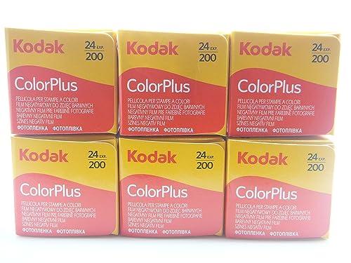 Kodak 35mm ColorPlus 200 ASA Film ( 24 Exposures ) 6 Pack