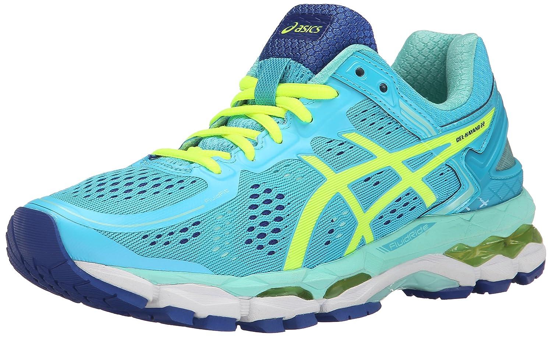 ASICS Women's GEL-Kayano 22 Running Shoe B00OU7TD98 6.5 B(M) US|Ice Blue/Flash Yellow/Blue