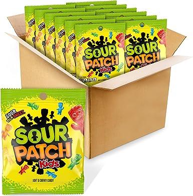 Sour Patch Kids Candy (Original, 5 Ounce Bag, Pack of 12): Amazon.es: Alimentación y bebidas