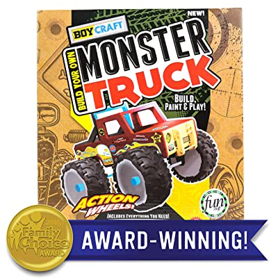 Boy Craft Monster Truck by Horizon Group USA: Toys & Games