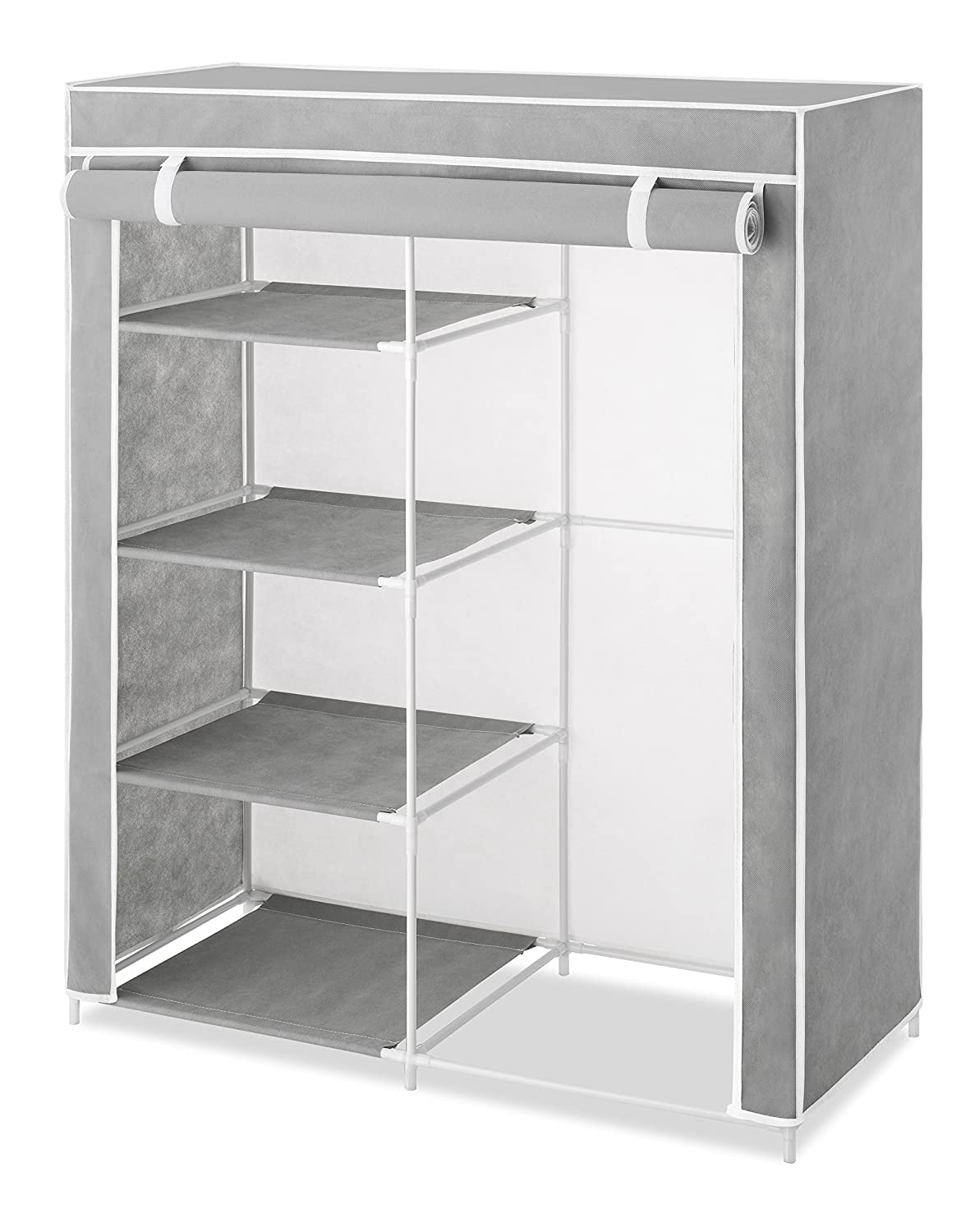 Whitmor Compact Covered Clothes Closet 6091-7151