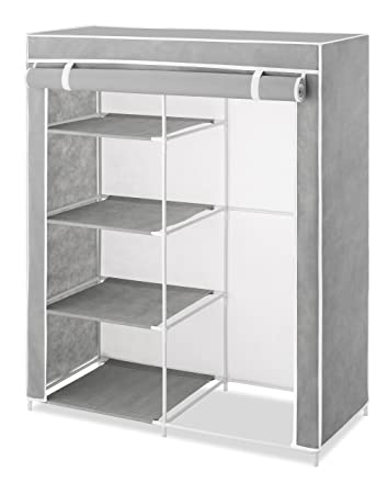 Whitmor Compact Covered Clothes Closet