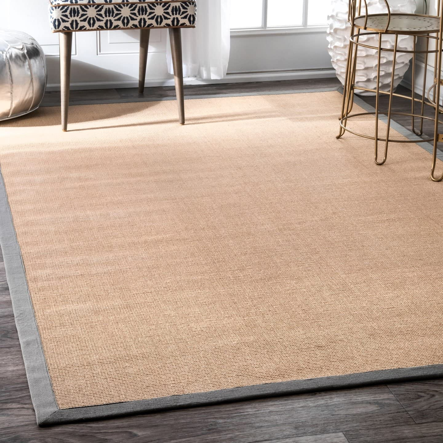 nuLOOM Laurel Machine Woven Jute Rug