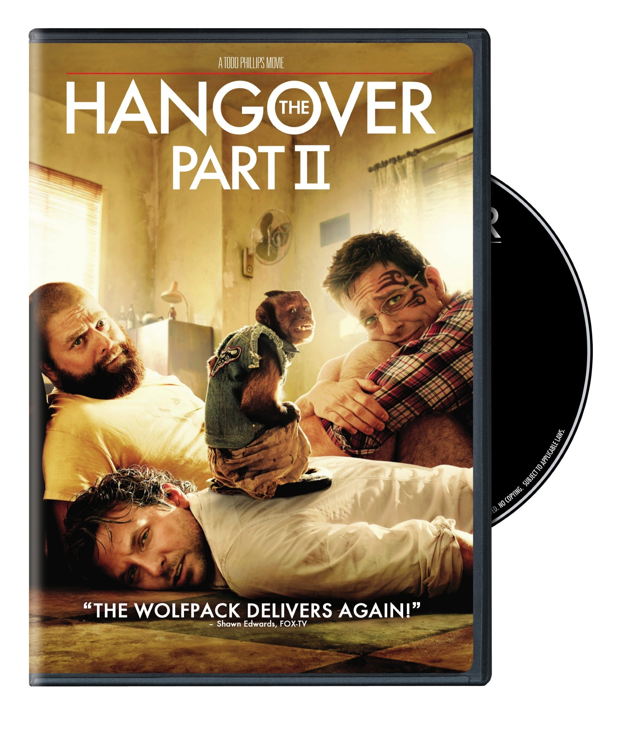 DVD : The Hangover Part II (Eco Amaray Case, Digital Copy)