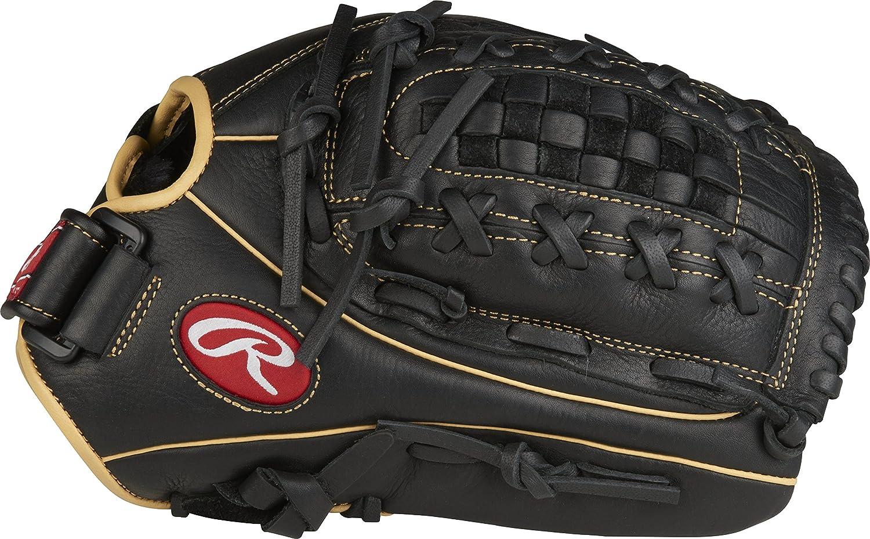 Rawlings Shut Out guantes de béisbol - SHUT, 33 cm (13), Black- Basket Web 33 cm (13) Rawlings Sporting Goods