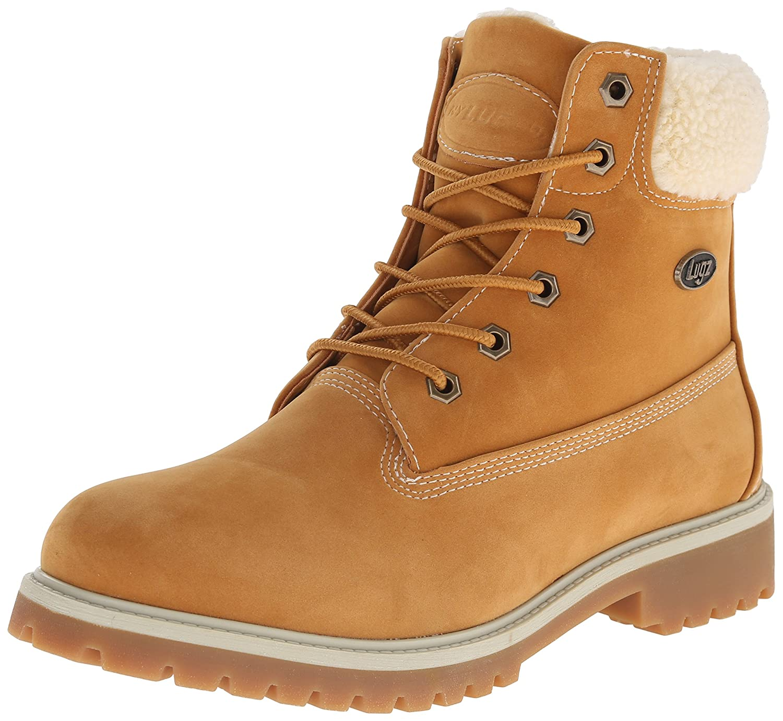 golden Wheat Cream Gum Lugz Womens Convoy Fleece Winter Boot