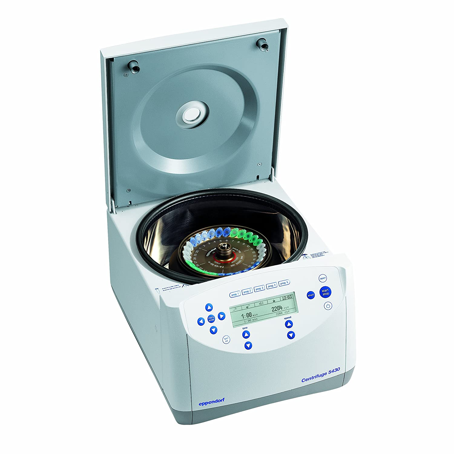 120 V//60 Hz Eppendorf 022620596 5430 Microcentrifuge with Knob Control without Rotor