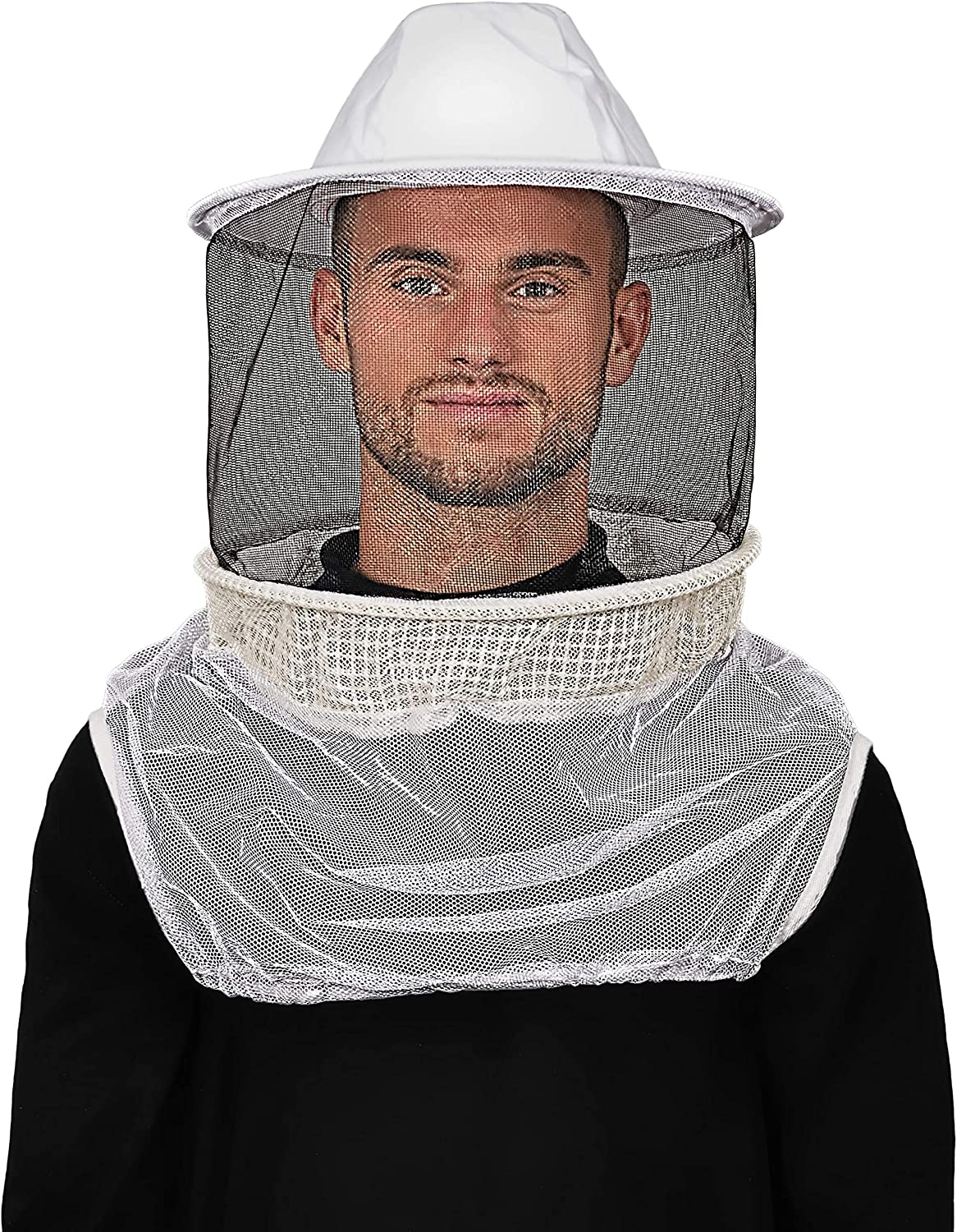 poly-cotton with fencing veil beekeeping hat Humble Bee 11