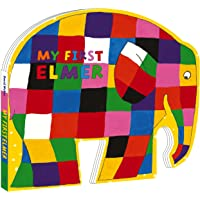 My First Elmer: Shaped Board Book (Elmer Picture Books)