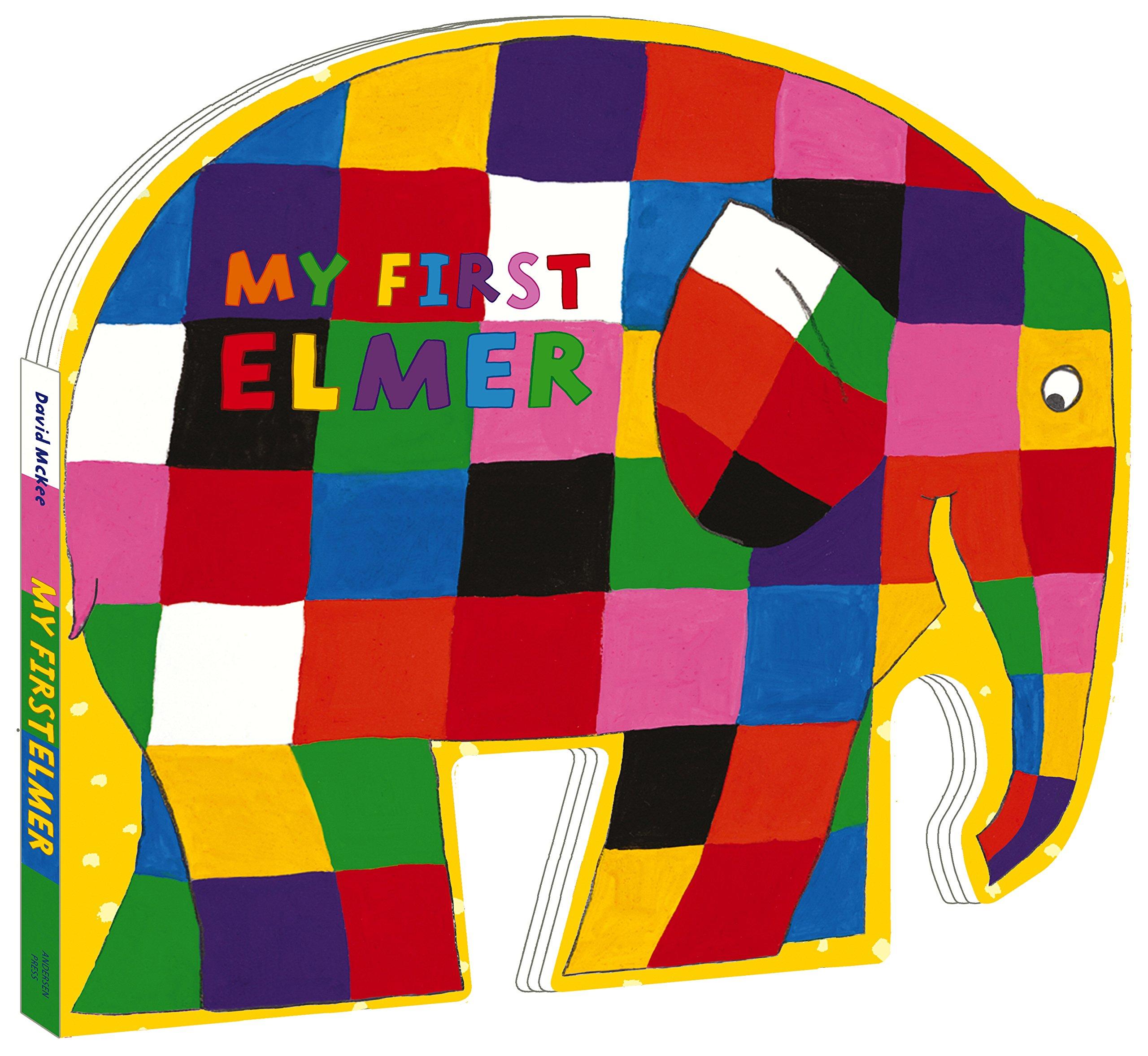 Elmer Ratlle//Zittende knuffel