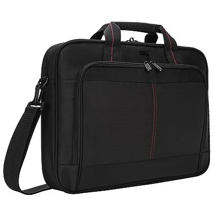 3273c7420e Amazon.com: Targus Classic Slim Laptop Bag for 16-Inch Laptops, Black  (TCT027US): Electronics