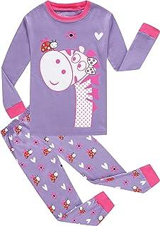 Amazon.com  Vingi Girls  2 Piece Pajamas Set Kids Clothes Cute Cat ... c268dba99