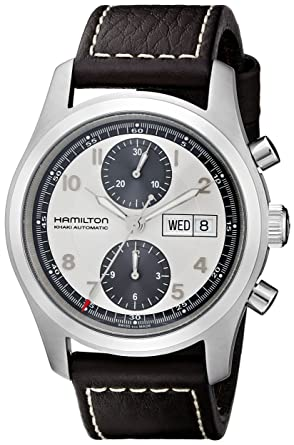 72a926840 Image Unavailable. Image not available for. Color: Hamilton Men's H71566553 Khaki  Field Automatic Watch