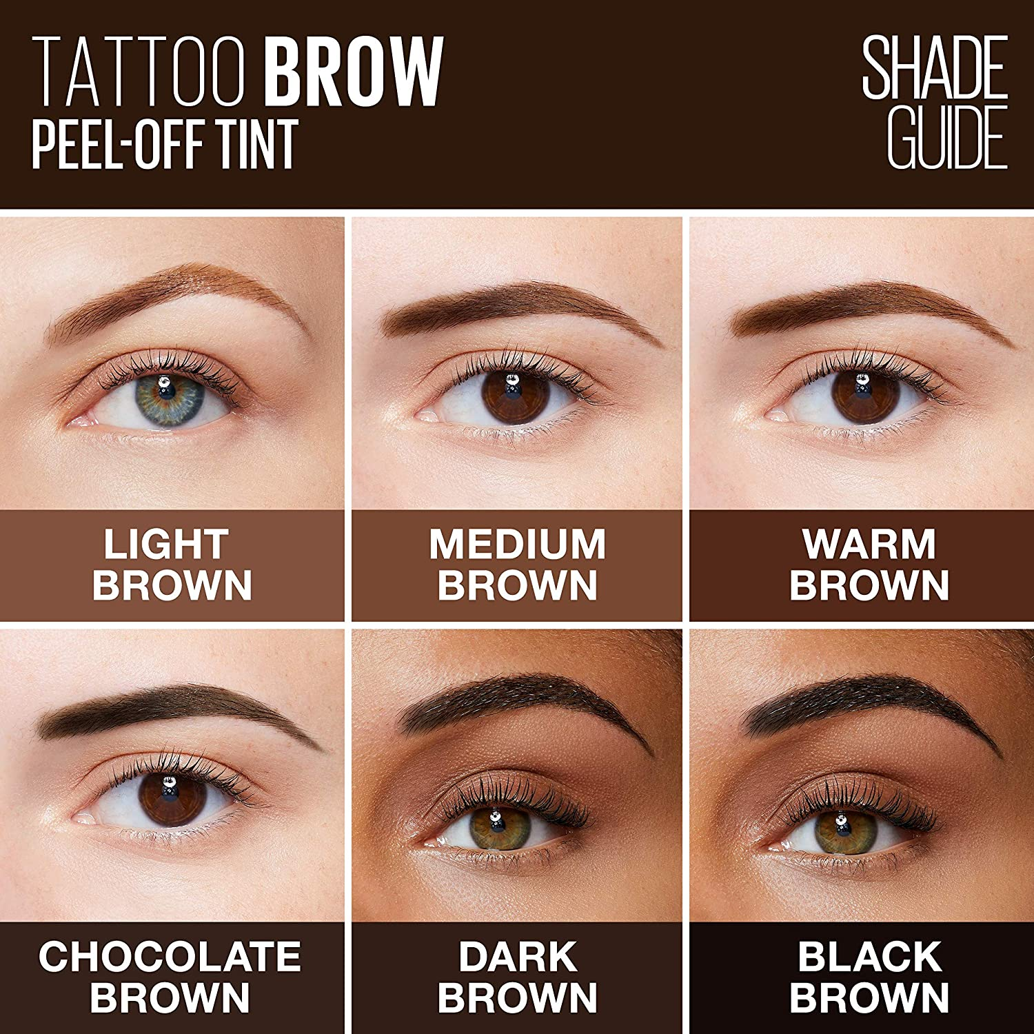 Maybelline New York - Encre à Sourcils Peel-Off - Tattoo Brow ...