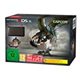 Nintendo 3DS XL - Konsole, schwarz + Monster Hunter 3 Ultimate (vorinstalliert)