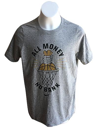 0477a9dd45a0 Amazon.com  Nike Boy s Tee T-shirt AA8863-063 Grey  All Money No ...