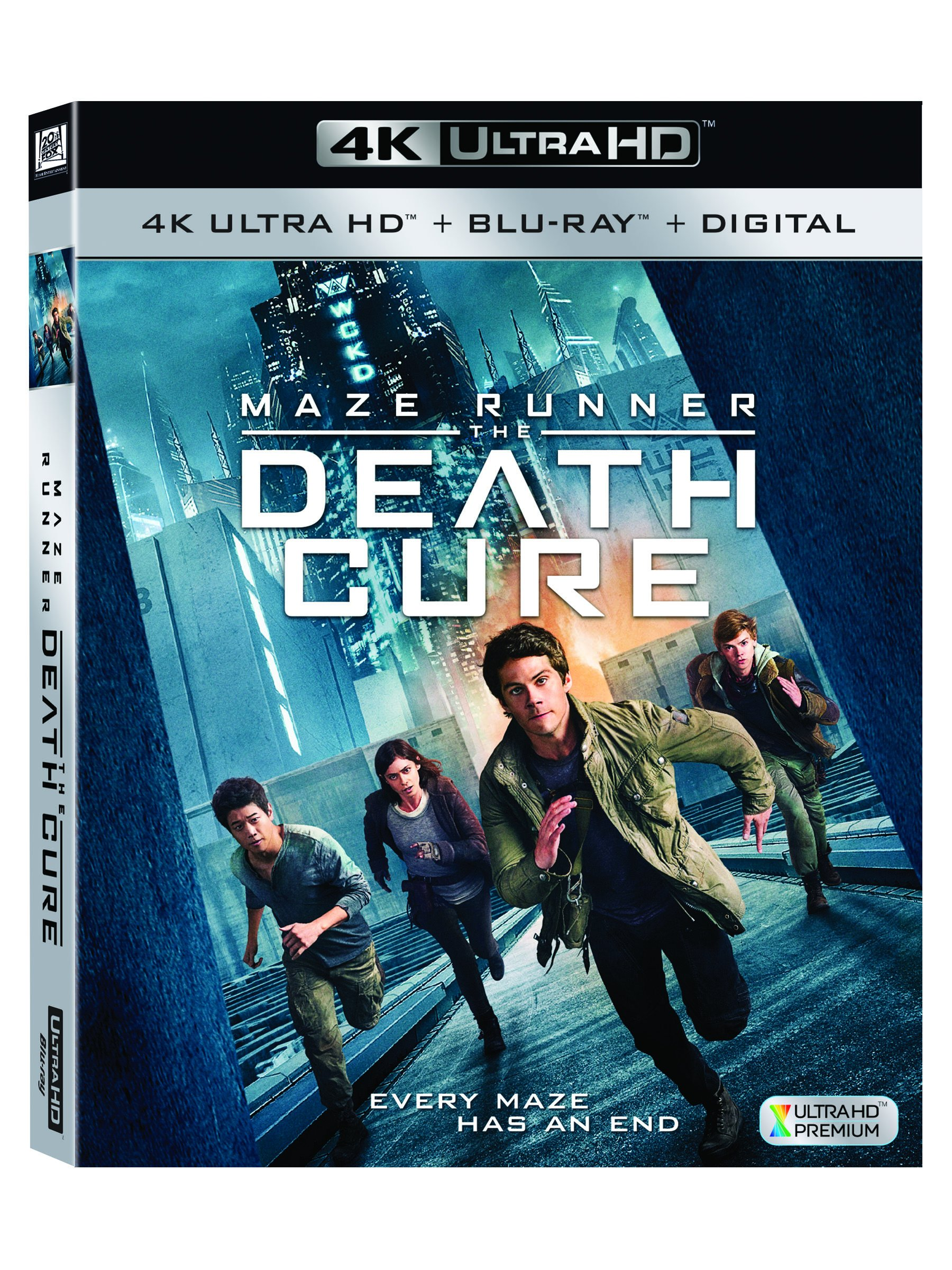 4K Blu-ray : Maze Runner: The Death Cure (Digitally Mastered in HD, 2PC)
