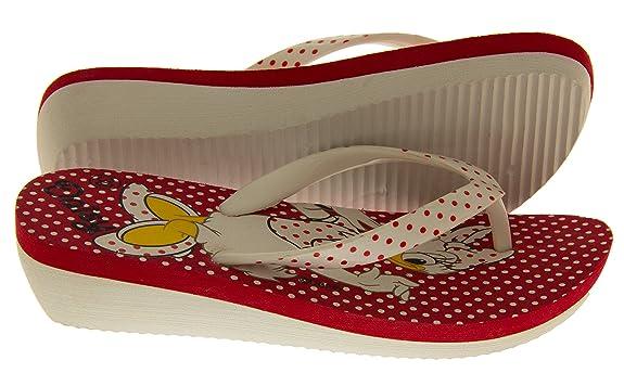 Disney Filles Sandales À Talons Wedge Blanc Sandales De Plage Eu 30 rSlFvd