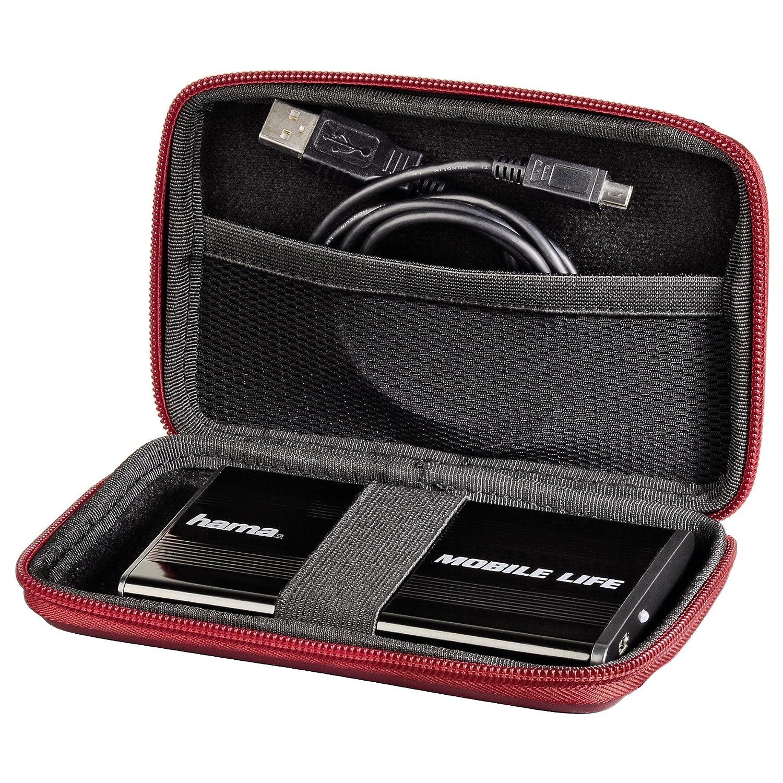 2.5 Black EVA 90 x 20 x 150 mm Hama Negro 2.5 HDD Case