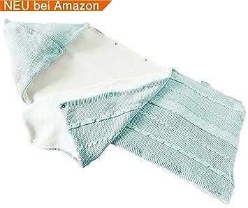 sei Design Baby Schlafsack gestrickt aus 100% BaumwollePuckdecke Swaddle Beddengoed voor baby's Baby