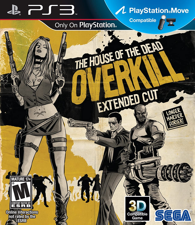 Amazon Com House Of The Dead Overkill Extended Cut