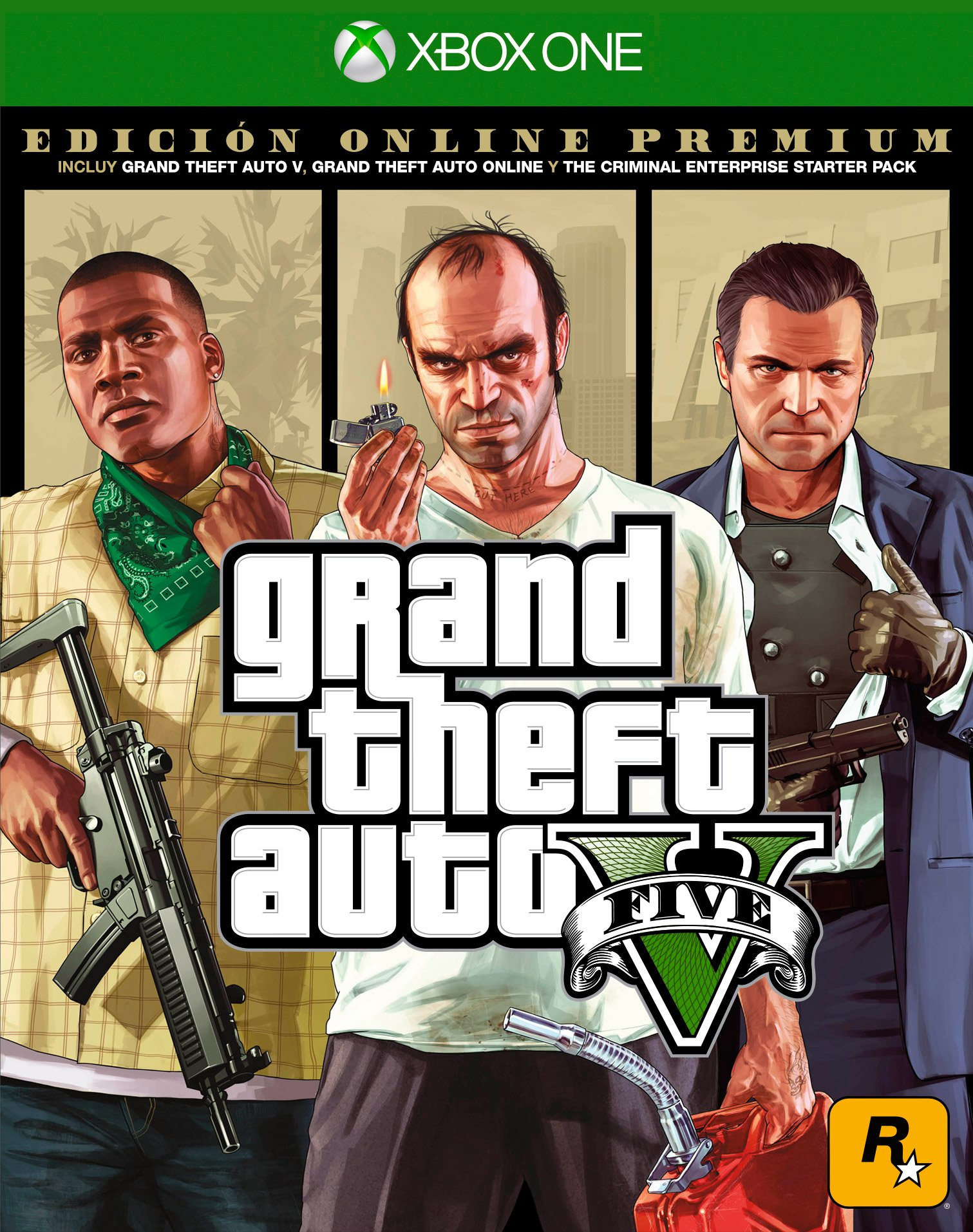 Grand Theft Auto V Premium Online Edition - Xbox One...