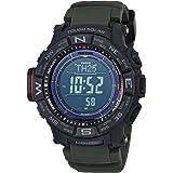 Casio Men's PRO TREK Stainless Steel Quartz Watch with Resin Strap, Black, 20.2 (Model: PRW-3510Y-8CR)