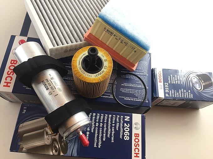 Bosch Ölfilter Luftfilter Aktivkohlefilter Kraftstofffilter A4 B8 A5 8t Q5 8r 2 0 Tdi Motorcode Cahb Caga Cagb Cagc Auto