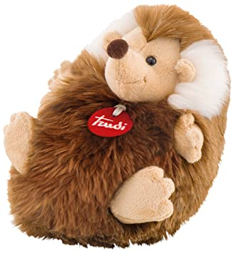 Trudi - Peluche Erizo, Color marrón, 24 cm (29007)