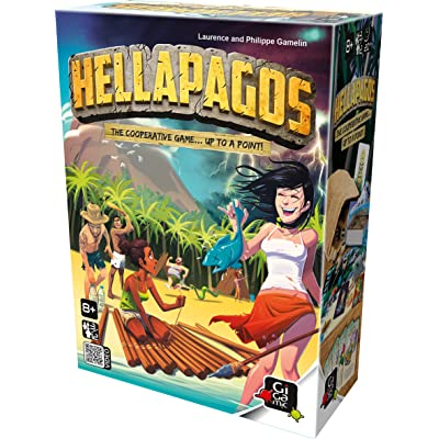 GIGAMIC Hellapagos - Cooperative Survival: Toys & Games