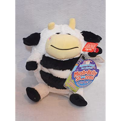 MUSHABELLY Jay at Play Mushkin Snoozems Sosie Cow Plush: Toys & Games