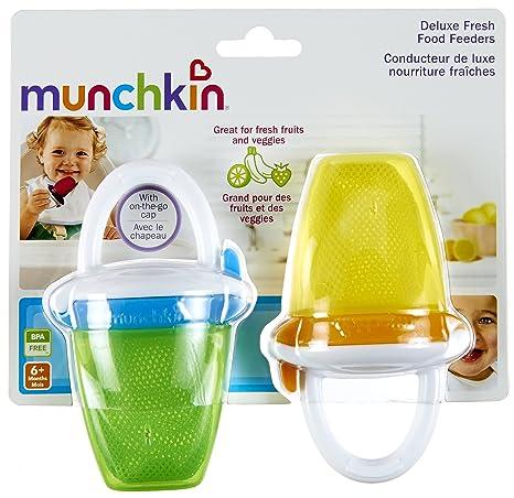 Amazon.com: Munchkin Deluxe alimentador de alimentos frescos ...