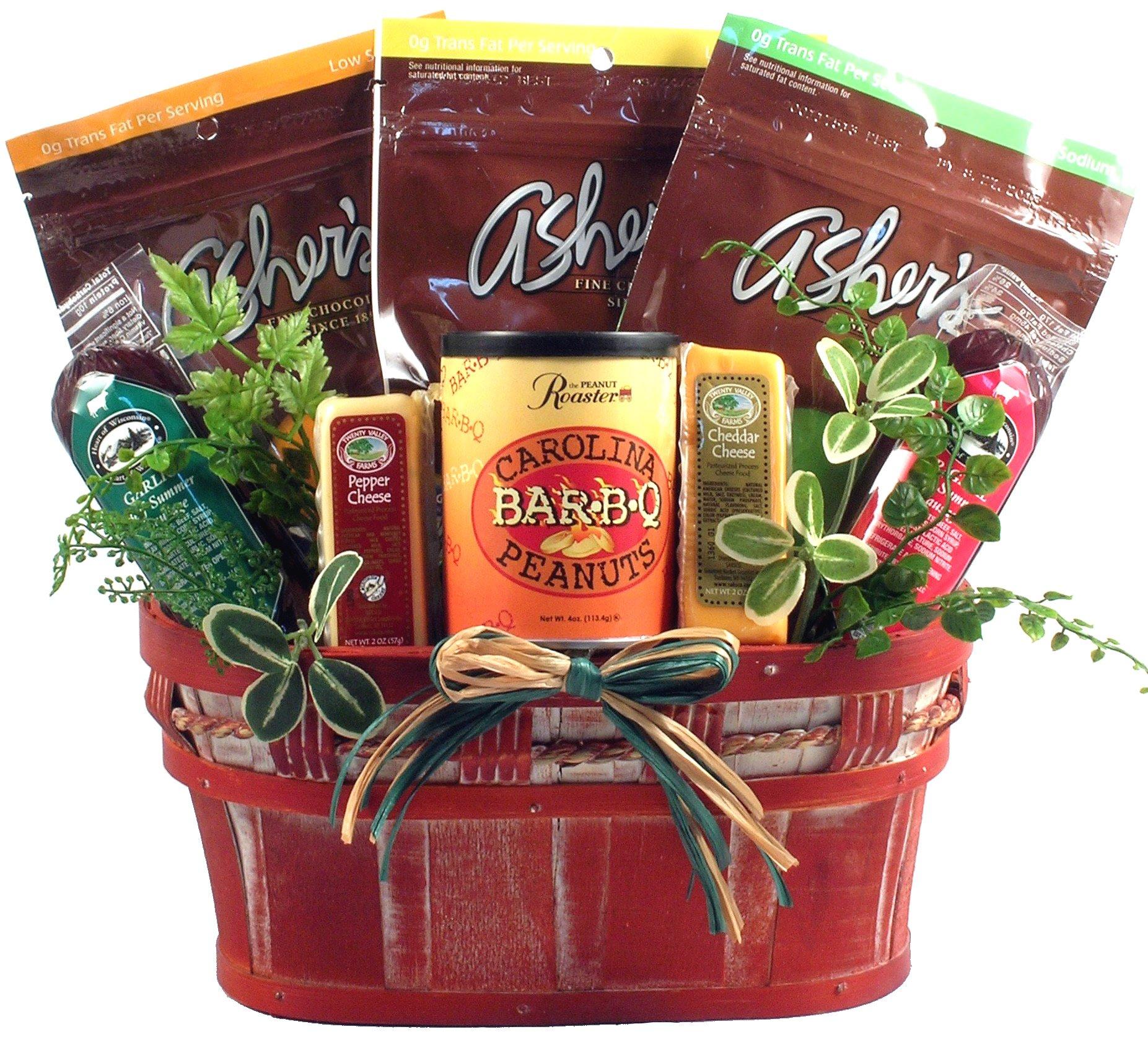 Gift Basket Village Healthy Living Sugar Free Gift Basket, 6 Pound by Gift Basket Village