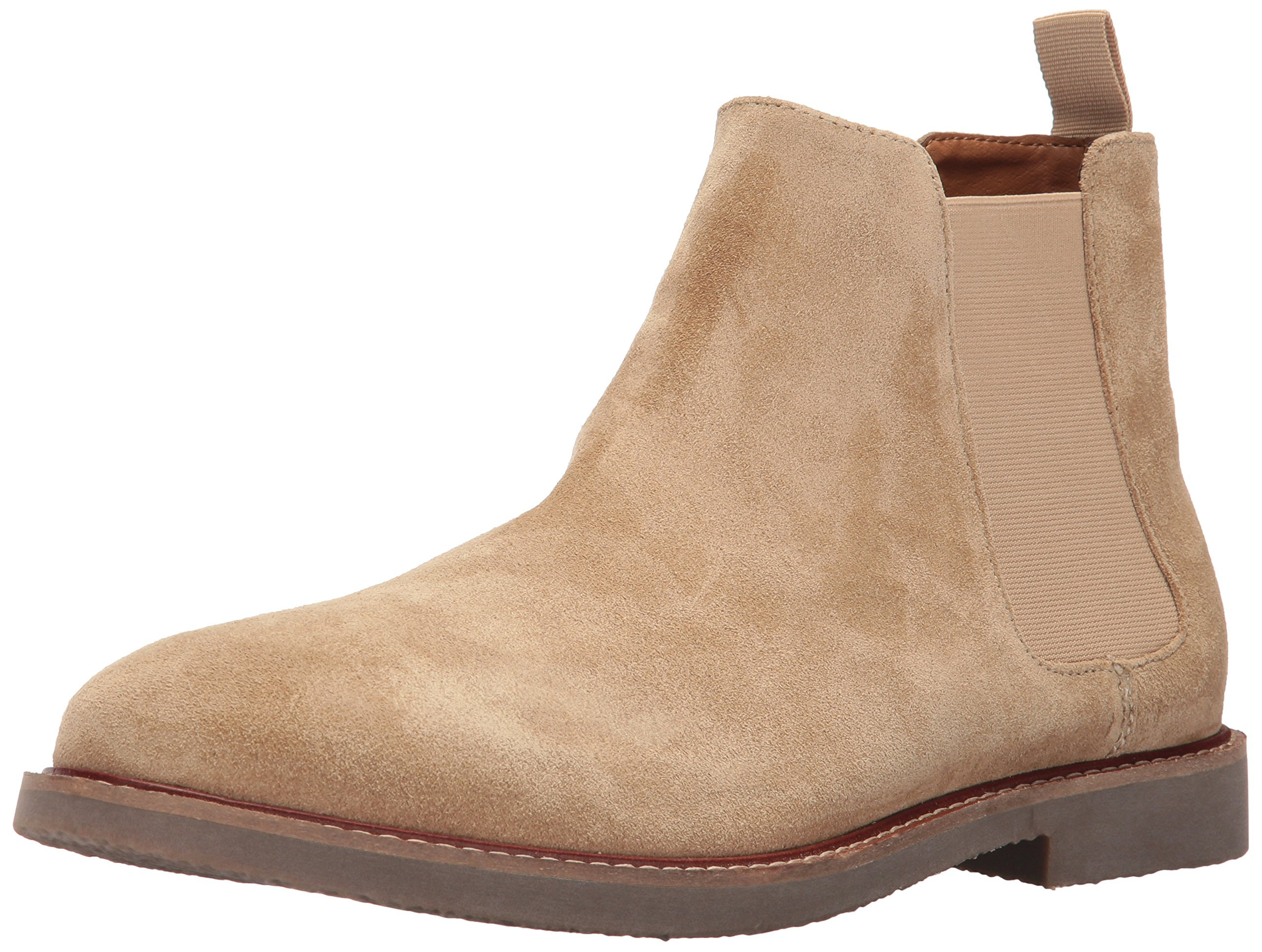 Steve Madden Men's Highline Chelsea Boot, Sand Suede, 11 US/US Size Conversion M US by Steve Madden