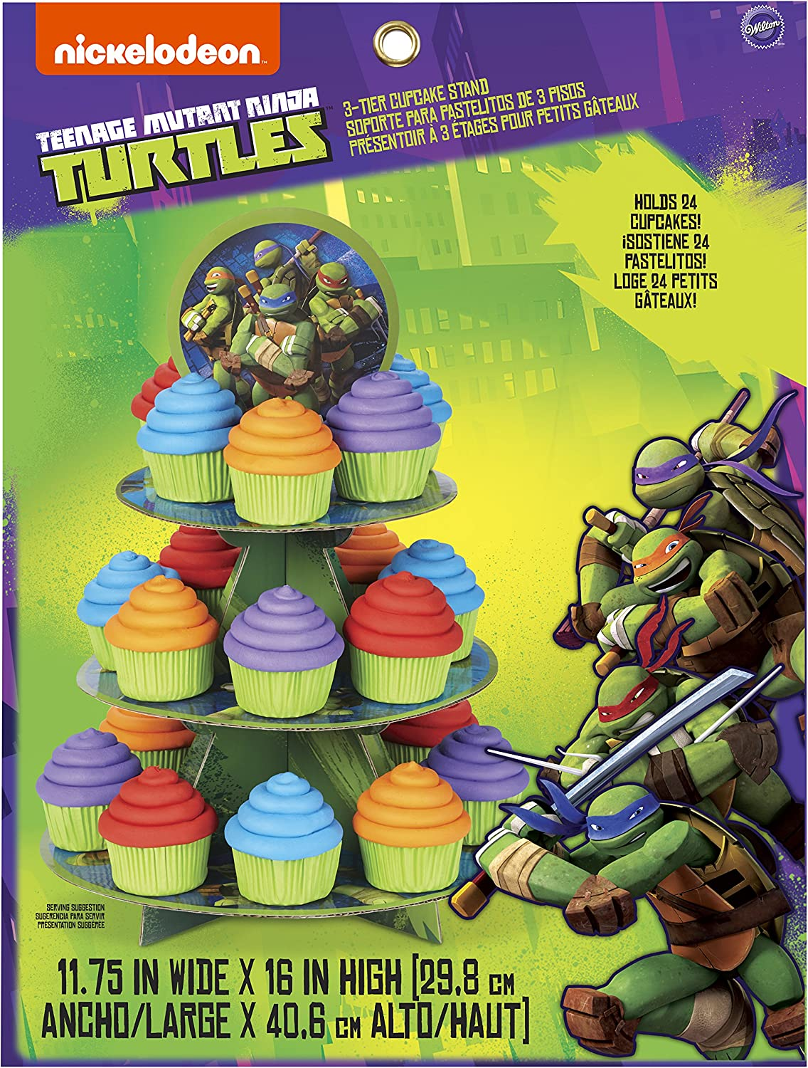 Wilton Treat Stand, Teenage Mutant Ninja Turtles