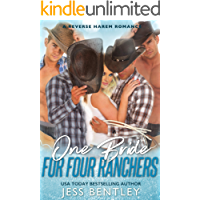 One Bride for Four Ranchers: A Reverse Harem Romance