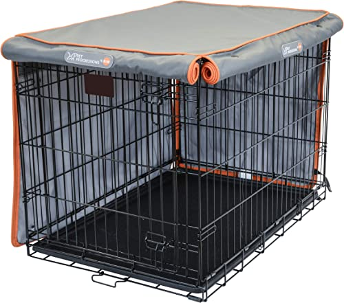 Pet Progressions by K H Dog Crate Cover – Tear Resistant Dog Kennel Covers