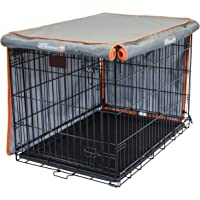 Pet Progressions by K&H 36 Inch Dog Crate Cover, Grey - Tear Resistant Dog Kennel Covers