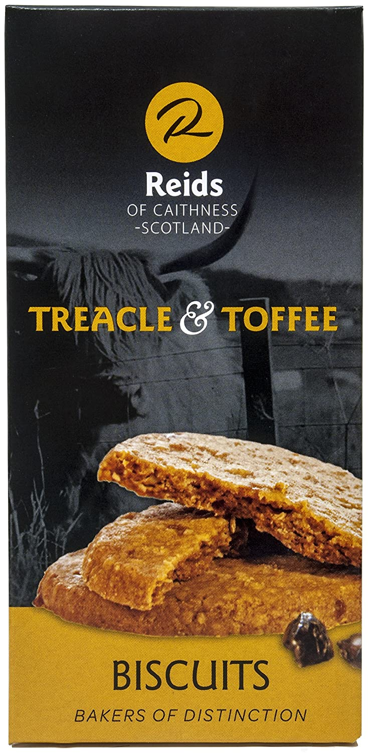 Amazon.com: Reids of Caithness Treacle Toffee Biscuits, 8-Ounce Boxes (Pack of 3)