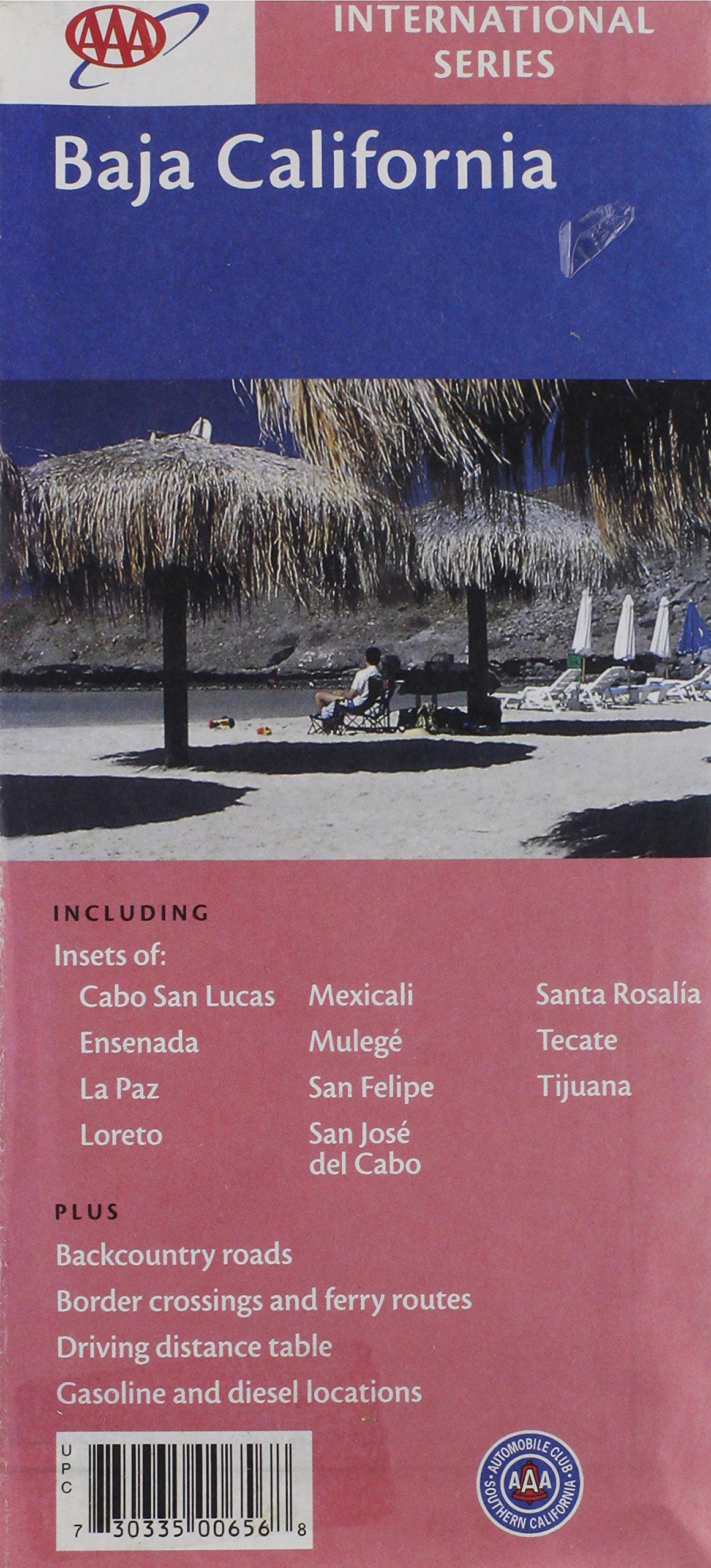 Read Online AAA Baja California: Cabo San Lucas, Ensenada, La Paz, Loreto, Mexicali, Mulege, San Felipe, San Jos pdf