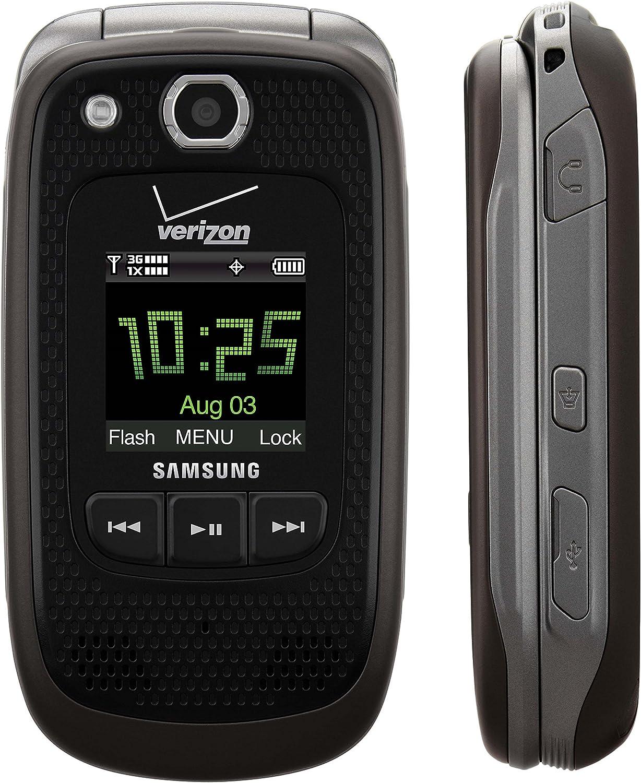 Amazon Com Verizon Samsung Convoy U660 No Contract Rugged Ptt Cell Phone Grey Verizon