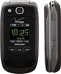 Verizon Samsung Convoy U660 No Contract Rugged PTT Cell Phone Grey Verizon