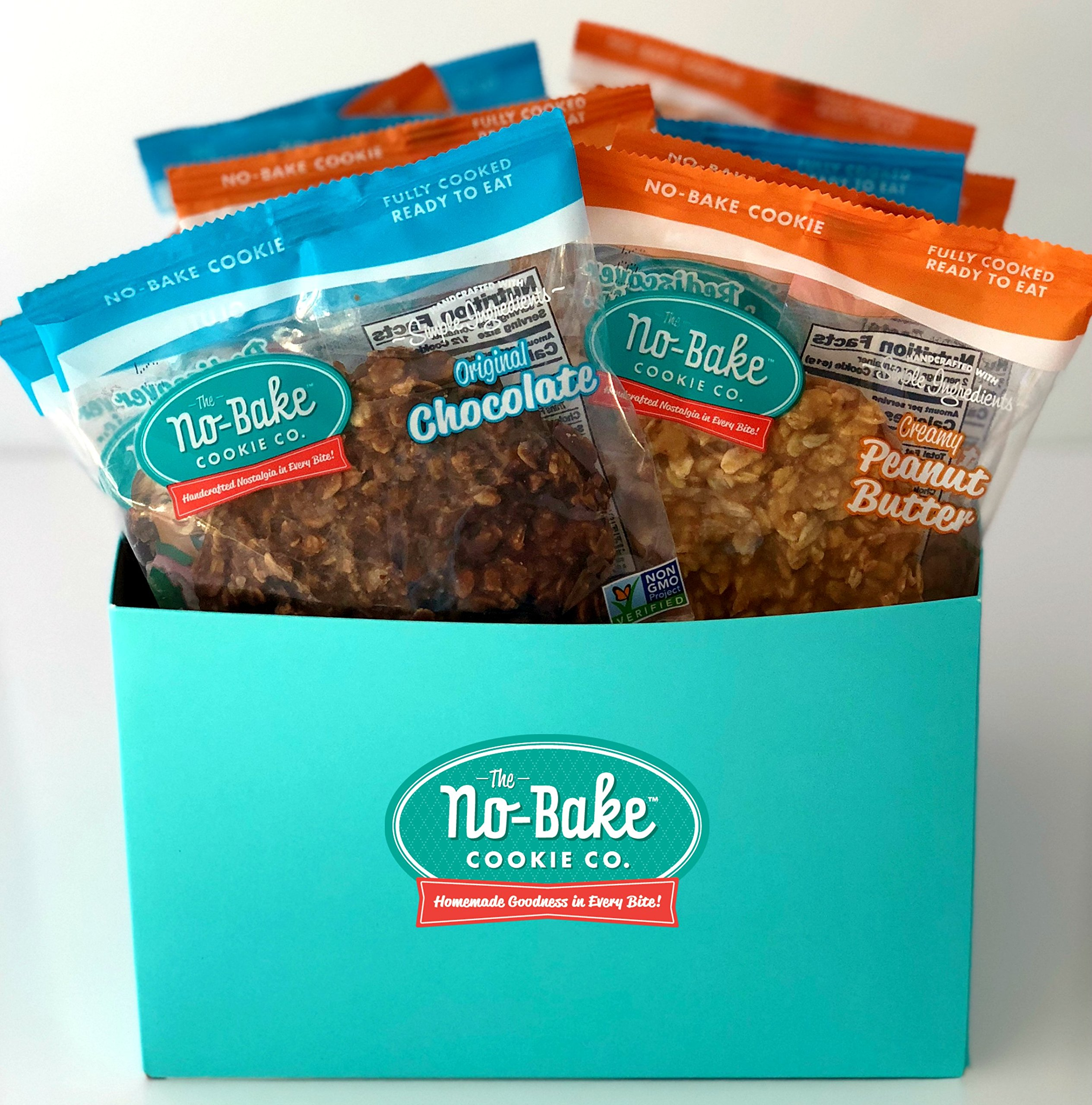 The No-Bake Cookie Co, Gift Basket, 8 Pack
