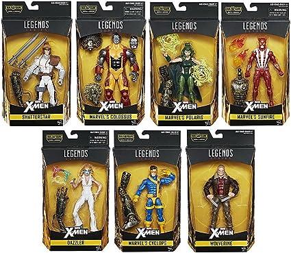In STOCK Marvel Legends X-Men Wave 2 2017 Warlock BAF Cyclops SET Action Figures