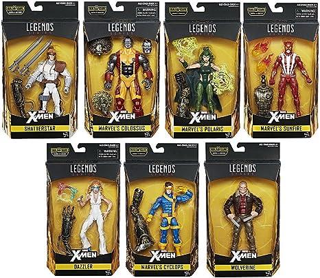 "Marvel Legends 6/"" scale figure Polaris Warlock series complete /& excellent"
