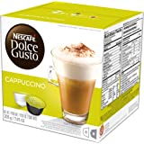 NESCAFÉ Dolce Gusto Coffee Capsules – Cappuccino – 48 Single Serve Pods, (Makes 24 Specialty Cups)