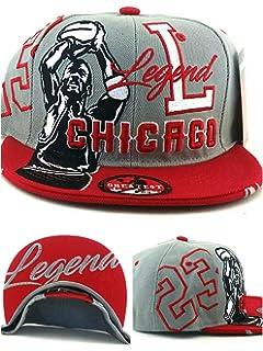 01741990d89 ... czech chicago new legend greatest 23 mj jordan bulls gray red era snapback  hat cap 6b9c4